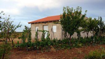Casa de campo con huerto ecológico