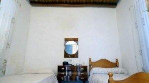 Casa rustica en Tentudía con techos de vigas y tablas