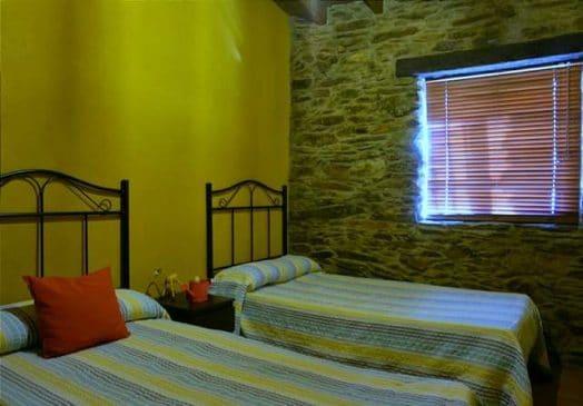 Dormitorio de la casa de campo