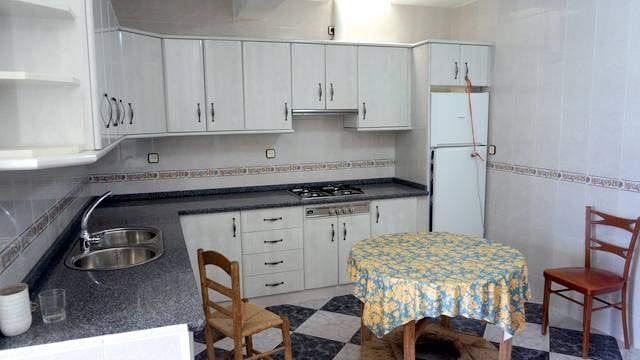 Casa con cocina rústica en la Sierra de Aracena