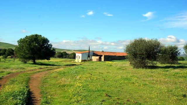 Finca agrícola en Extremadura