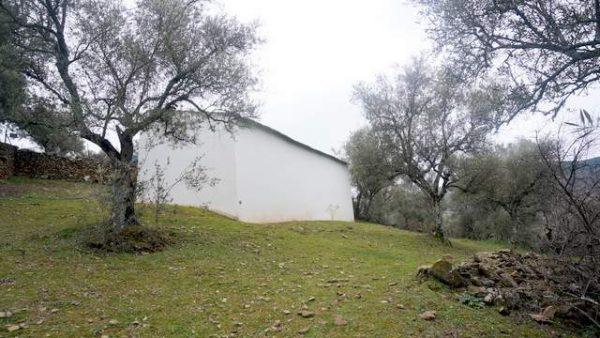 Finca con casa antigua en la Sierra de Tentudía