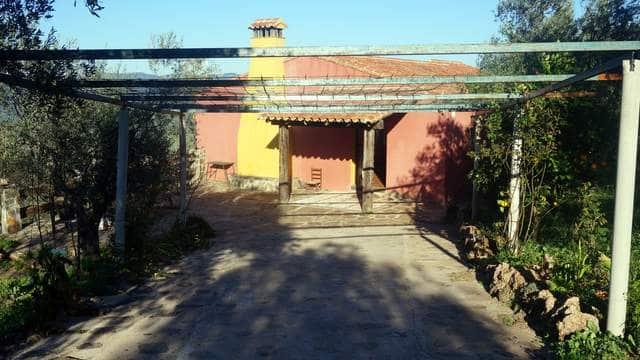Porche de la casa en la Sierra de Aracena