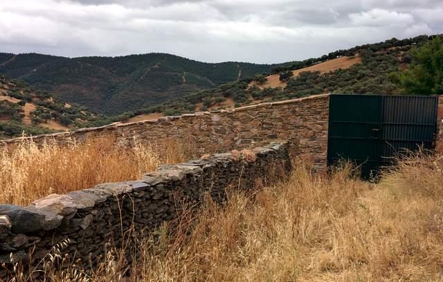 Casa de pueblo con gran corral con salida al campo