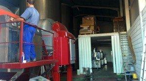 Bodega nueva de vino en Badajoz