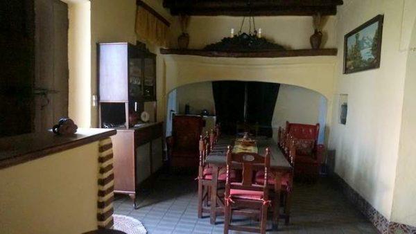 Cocina rústica del cortijo