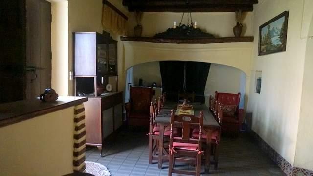 Cocina del cortijo en Extremadura