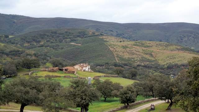 Finca de recreo y ganadera de 207 ha con caza mayor en Aracena