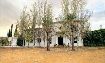 Finca rústica de 2,3 hectáreas con casa de lujo cerca de Zafra (Badajoz)