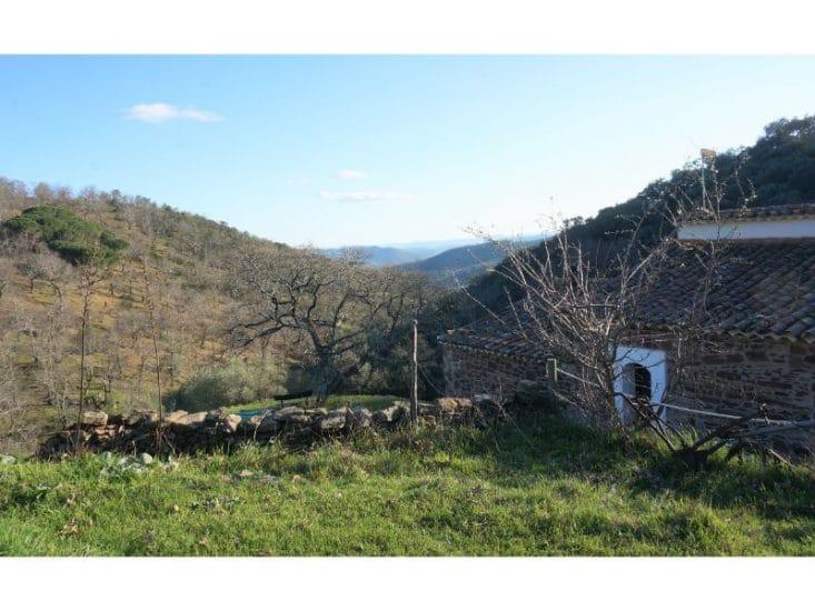 Vista paisajística desde el refugio