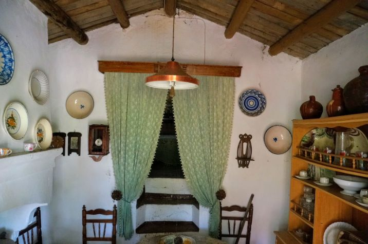 antigua cabaña