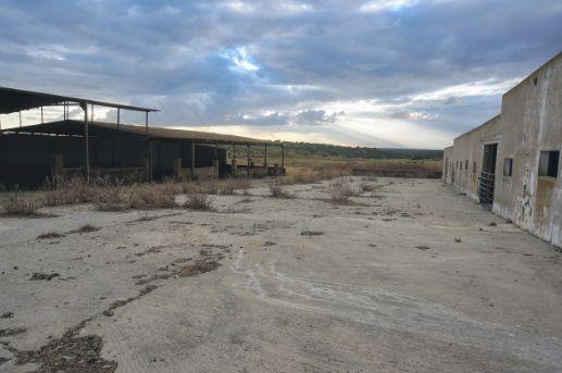 Terreno de 8 hectáreas con antiguo cebadero de terneros