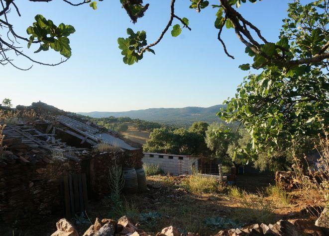 Dos casas de piedra