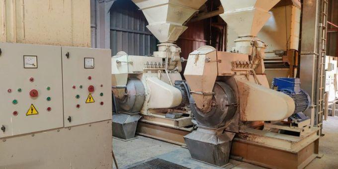 Fábrica de piensos en Badajoz