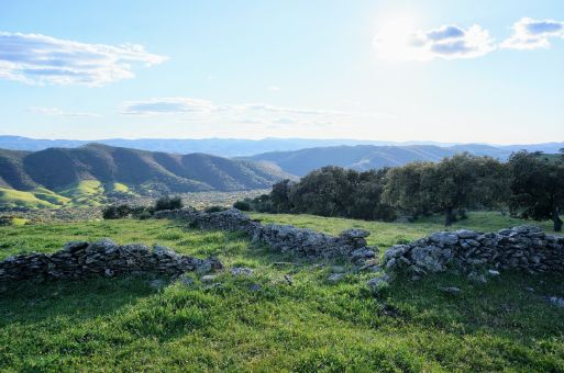 Vistas del Parque Natural Sierra de Aracena y Picos de Aroche