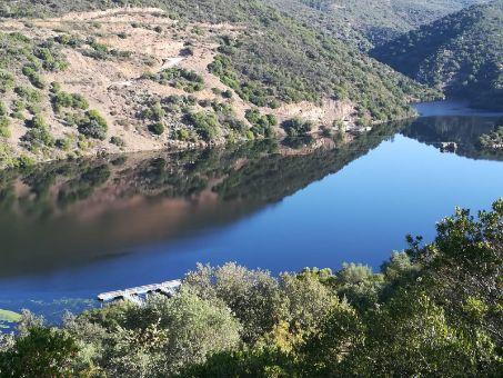 Río Tajo a su paso por la finca